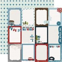 Journaling Cards 12X12 Winter Park Collection Paper By Echo Park Paper Co.