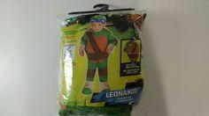 New Teenage Mutant Ninja Turtles 🐢 Leonardo Toddler Costume 1-2 Years #Rubies…