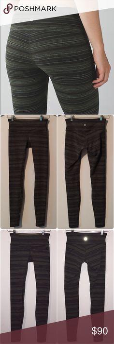 Selling this Lululemon wunder unders cyber stripe gator green in my Poshmark closet! My username is: lnation818. #shopmycloset #poshmark #fashion #shopping #style #forsale #lululemon athletica #Pants