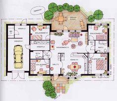 Best Indoor Garden Ideas for 2020 - Modern Apartment Floor Plans, Bedroom Floor Plans, Studio Floor Plans, House Floor Plans, Apartment Layout, Apartment Interior Design, Cool Apartments, Luxury Apartments, Studio Layout