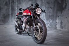 Honda CX500 RR ~ Return of the Cafe Racers
