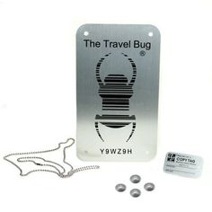 XXL Groundspeak Travelbug® Schild