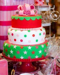 Very festive cake