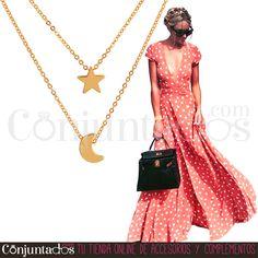 Collar dorado Moon & Star ★ 11'95 € en https://www.conjuntados.com/es/collares/collares-minimalistas/collar-dorado-moon-star.html ★ #novedades #collar #necklace #conjuntados #conjuntada #joyitas #lowcost #jewelry #bisutería #bijoux #accesorios #complementos #moda #fashion #fashionadicct #minimalista #minimalist #picoftheday #outfit #estilo #style #GustosParaTodas #ParaTodosLosGustos