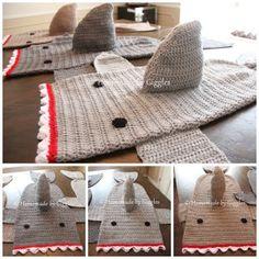 a5d97936278 Crochet Shark Blankets – Homemade by Giggles