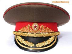 Soviet Army field MARSHAL Visor Hat Russian cap