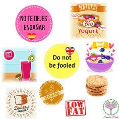Alimentos que aparentan ser saludables y no lo son  Foods that look healthy but they are not