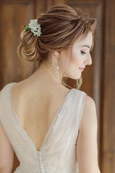 Bridal Make-up by Flavia Silaghi. Hair Style by Oana Lucescu - Stefan Fekete Photography Destination Weddings in Greece and Europe Blush Pink Wedding Dress, Blush Pink Weddings, Wedding Dresses, Autumn Wedding, Chic Wedding, Wedding Day, Bridal Hairdo, Bride Portrait, Greece Wedding
