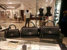 Chanel Black Coco Handle Mini/Small/Medium Bags