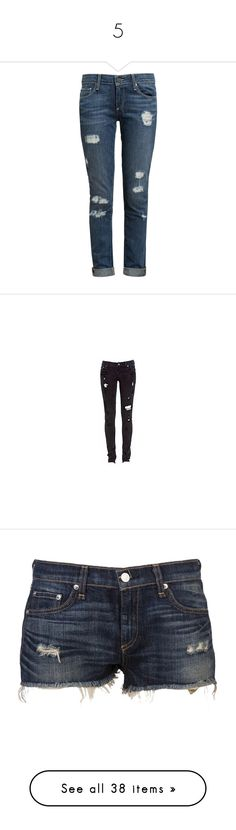 """""""5"""" by alinovarose ❤ liked on Polyvore featuring jeans, pants, bottoms, calças, rolled up skinny jeans, blue skinny jeans, super skinny ripped jeans, skinny jeans, blue jeans and pantalones"""