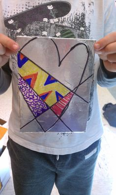1st Grade: Jim Dine Hearts  Jim Dine is an American Pop Artist. He does an awesome job using the heart (shape) as his subject.