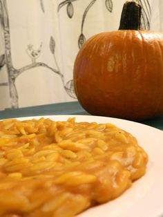 Pumpkin Orzo | The Collegiate Vegan