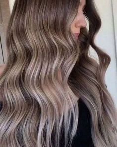 The Warm to Cool Blonde Hair Color Hacks Every Colorist Should Know Black To Blonde Hair, Blonde Hair With Highlights, Hair Color Balayage, Blonde Balayage, Ash Blonde, Brunette Hair, Bleach Blonde, Balayage Highlights, Champagne Hair