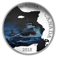 Looking to buy Royal Canadian Mint Collectible Coins online? Silver Gold Bull US has the best selection of Collectible Canadian Mint Coins. Bullion Coins, Gold Bullion, Mint Coins, Silver Coins, Edmund Fitzgerald, Great Lakes Ships, Canadian Coins, Canada, Mystery Of History
