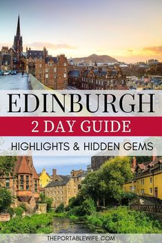 This Edinburgh Scotland travel guide for 2 days in Edinburgh will help you plan the perfect Edinburgh city break. From the best things to do in Edinburgh in 2 days to city travel tips, find out why Edinburgh is one of the best UK travel destinations.