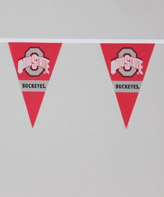 Take a look at this Ohio State Party Pennant Flag by BSI Products on #zulily today!