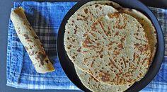 Tortillas de quinoa libres de gluten