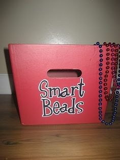 Students get smart beads when they do something good academically.  At the end of the day they trade in beads for a note to parents.  A good idea! school-ideas-for-educators