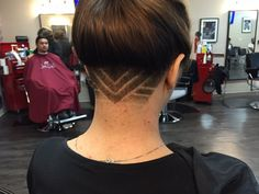 Photo of The Original Clip Joint - Covina, CA, United States. female undercut, freehand design by Karla (IG: karla_kuts)