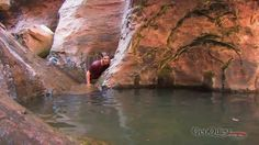I dont think we will be doing this Ashley... Its pretty rough.. And with just 2 people? Maybe if we met some reliable friends.. lol. But its worth the watch.  The Subway in Zion National Park Video Hike