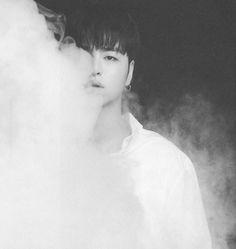 Half of my life Ikon Junhoe, Kim Hanbin, Ikon Wallpaper, Black And White Aesthetic, Kim Dong, Kpop Boy, K Idols, My Boyfriend, Sisters