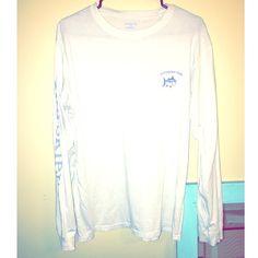 Southern Tide Long Sleeve T-Shirt! Size Med! Southern Tide Unisex Long Sleeve T-Shirt! Size Med! Tops Tees - Long Sleeve