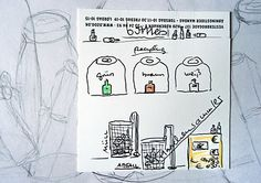 mano's welt: drawing challenge: bottles (2)