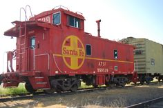 The caboose, miss seeing them - they were truly a part of railroading in the US.