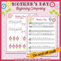 Mother's Day Composing Activity
