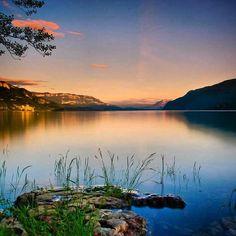 Lac du Bourget, Savoie, France