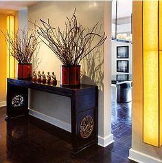 Oriental chinese interior design asian inspired foyer home decor ...
