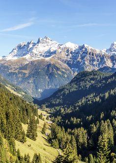 Dents du Midi - Biken in Champéry Wallis, Zermatt, Swiss Alps, Train Travel, Mount Rainier, Geography, Switzerland, Mount Everest, Natural Beauty