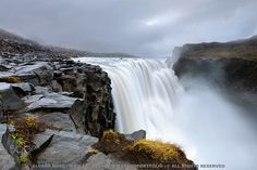 Dettifoss - Iceland ©Álvaro Roxo | www.facebook.com/ARoxoPortfolio | 500px.com/aroxo #waterfall #iceland #nature #landscape See more of iceland at www.yestravel.is