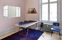 PLEASE WAIT to be SEATED showroom in Frederiksgade, Copenhagen