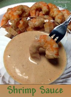 Florassippi Girl: Shrimp Sauce