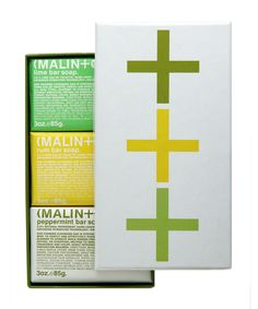 Mojito soap gift set from Malin+Goetz.