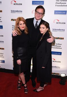 It's a 'Full House' reunion as Bob Saget, Ashley Olsen, and Candance Cameron Bure attend 'Cool Comedy - Hot Cuisine, A Benefit for the Scleroderma Research Foundation.'