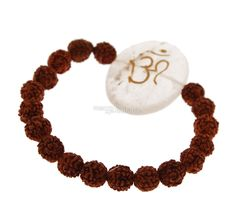 Bracciale Rudraksha con Om su Cristallo di Rocca Crochet Necklace, Jewelry, Jewlery, Jewerly, Schmuck, Jewels, Jewelery, Fine Jewelry, Jewel