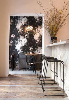 Trendspotting: Still Life Floral Wallpaper | Centsational Girl