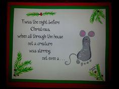 Twas The Night Before Christmas Handprint – Andrew Fuller