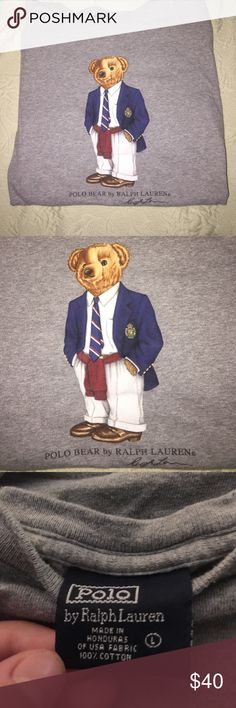 Vintage Polo Bear T-Shirt Size L no flaws Polo by Ralph Lauren Shirts Tees - Short Sleeve