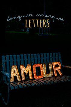 marquee letters diy tutorial