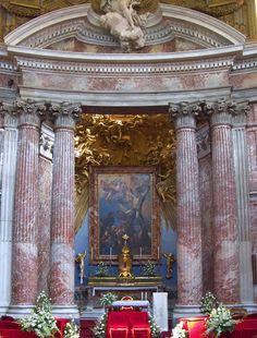 Sant'Andrea al Quirinale Altar