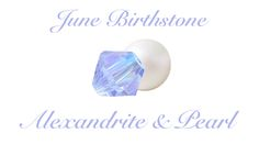 Shop alexandrite, pearl, and moonstone for June! JBCBeads.com has a beautiful selection of birthstone beads for every month of the year. #diy #beading #jewelry #june #birthstone #jewelrymaking