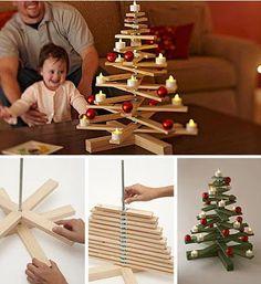 Ya estamos a una semana de armar nuestro árbol de navidad... Entonces hoy les traigo algunas ideas diferentes a las tradicionales (llámese...