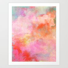 Untitled (Cloudscape) 20111005d Art Print by Tchmo - $17.00  http://society6.com/product/Untitled-Cloudscape-20111005d_Print?tag=abstract