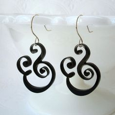 One of my birthday fairies already granted my wish for these ampersand earrings. :)