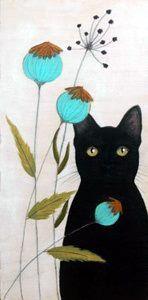 Chat Noir et Fleurs <3 *****