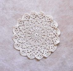 Ruffled Shells Crochet Lace Doily Coastal Beach by NutmegCottage, $8.50 https://www.etsy.com/listing/183158201/ruffled-shells-crochet-lace-doily?ref=shop_home_active_13