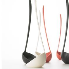 see-so:  Mikiya Kobayashi 's Tateotama (Ladle), 2007 and  Uki Hashi (chopsticks), 2009